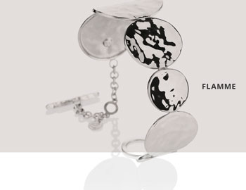 Collezione Flamme Bracciale Argento 355 | ECLAT Preziosi