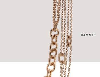 Collezione Hammer Collana Argento 363 | ECLAT Preziosi
