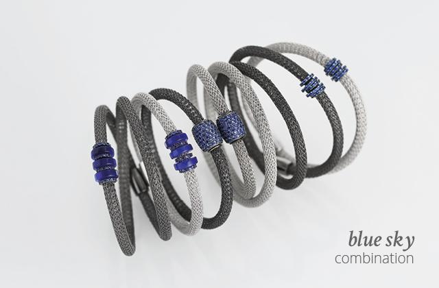 Silver Combination LOL Blue-sky | ECLAT Preziosi