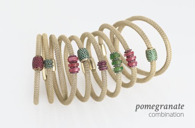 Silver Combination LOL Pomegranate | ECLAT Preziosi