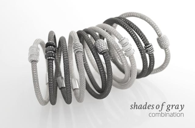 Silver Combination LOL Shades-of-gray | ECLAT Preziosi