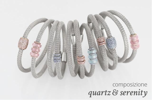 Collezione LOL Bracciali Argento Composizione Quartz & Serenity | ECLAT Preziosi