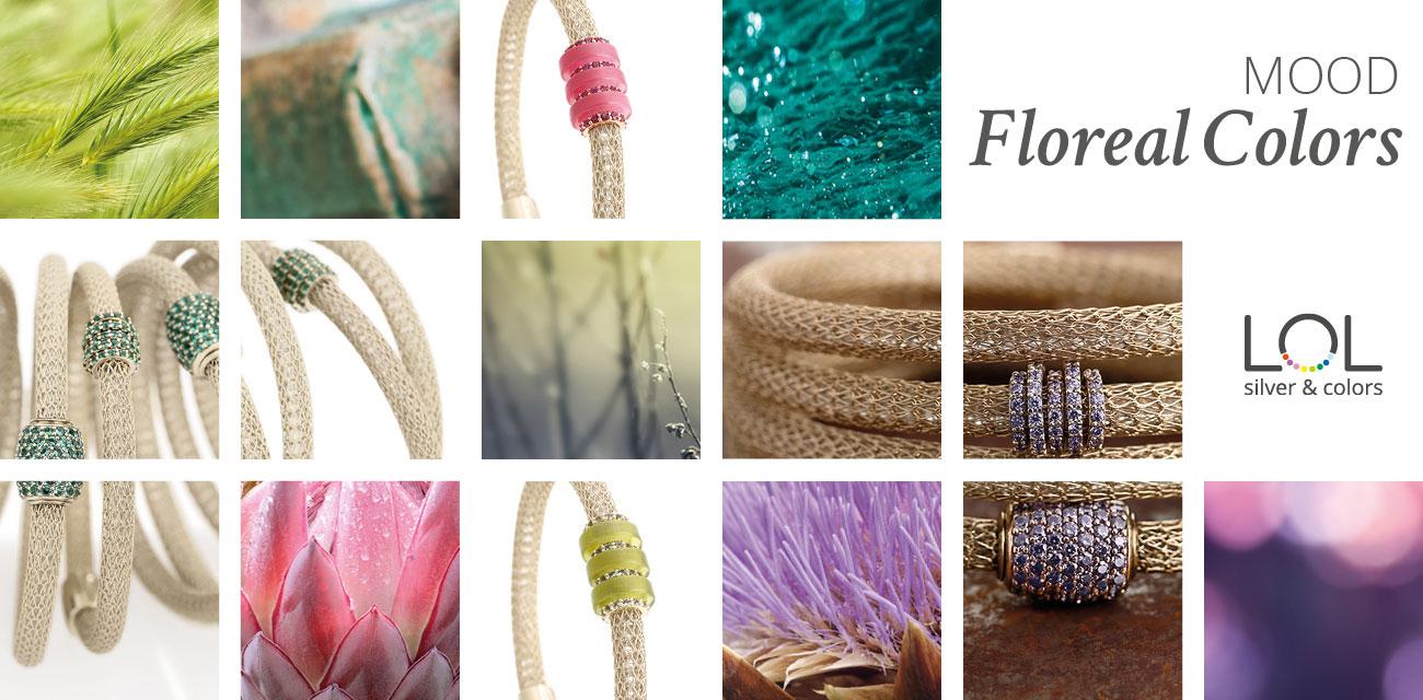 Collezione LOL Moodbard Flower Colors | ECLAT Preziosi