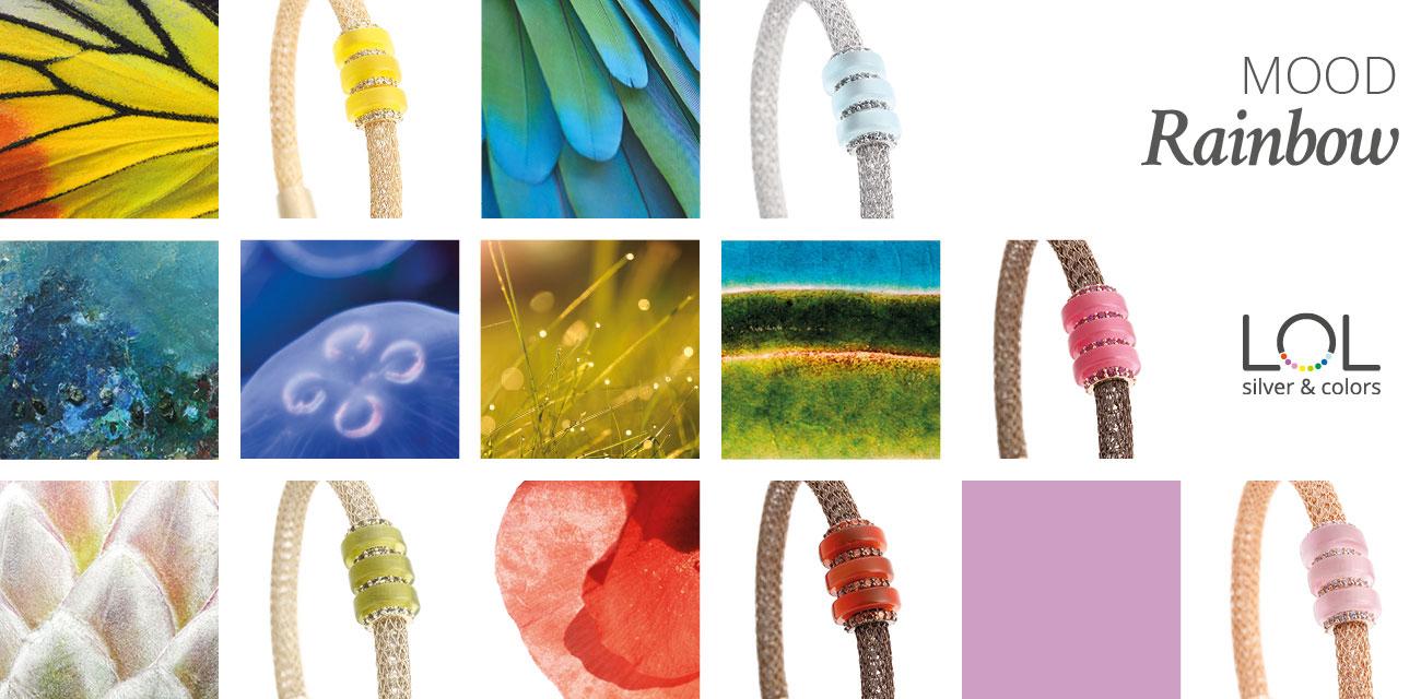 Collezione LOL Moodborad Rainbow   ECLAT Preziosi