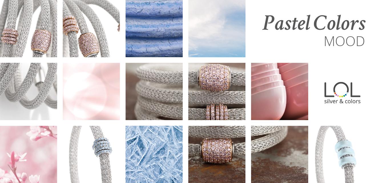 LOL Pastel Color Collection Moodboard | ECLAT Preziosi