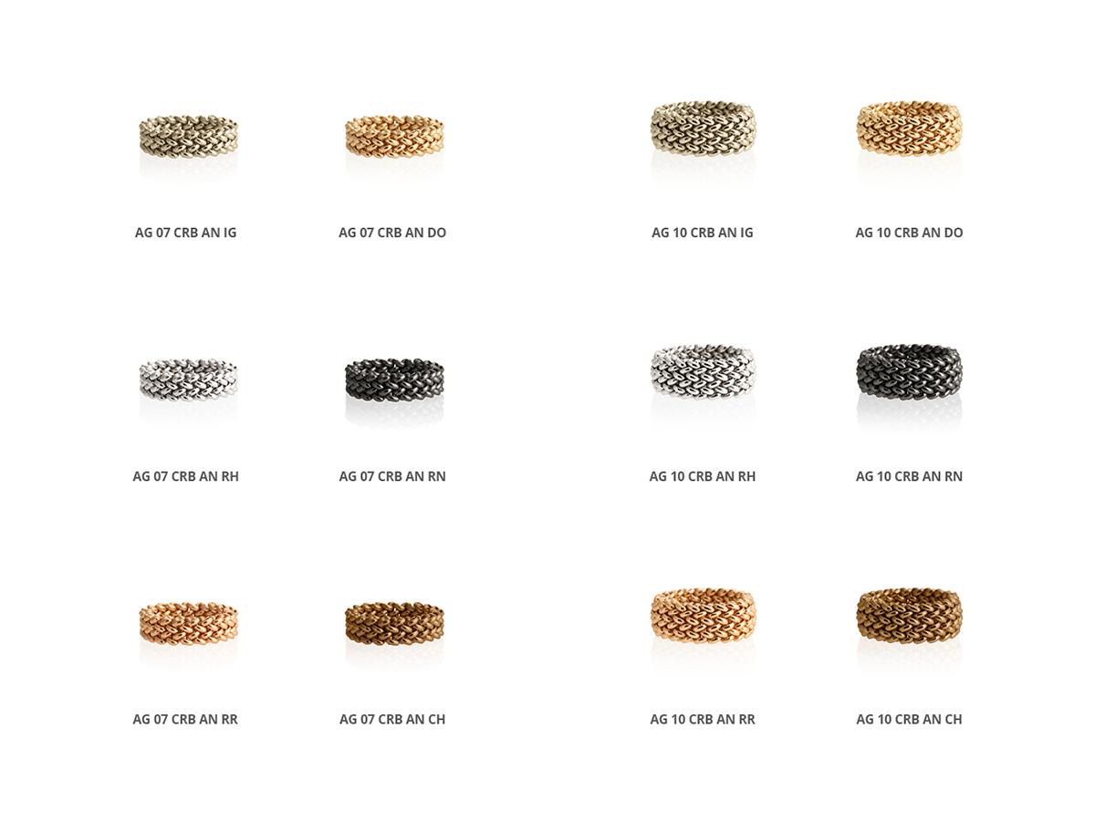 Collezione Chicco Anelli Argento 100 | ECLAT Preziosi