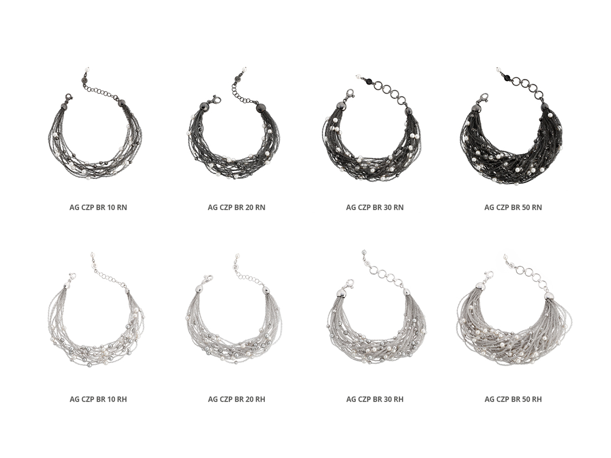 Silver Bracelets Verve Collection 109 | ECLAT Preziosi