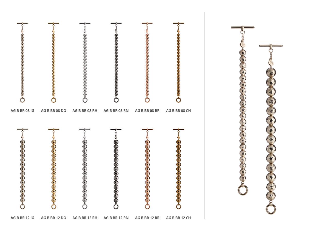 Collezione Boule Bracciali Argento 117 | ECLAT Preziosi