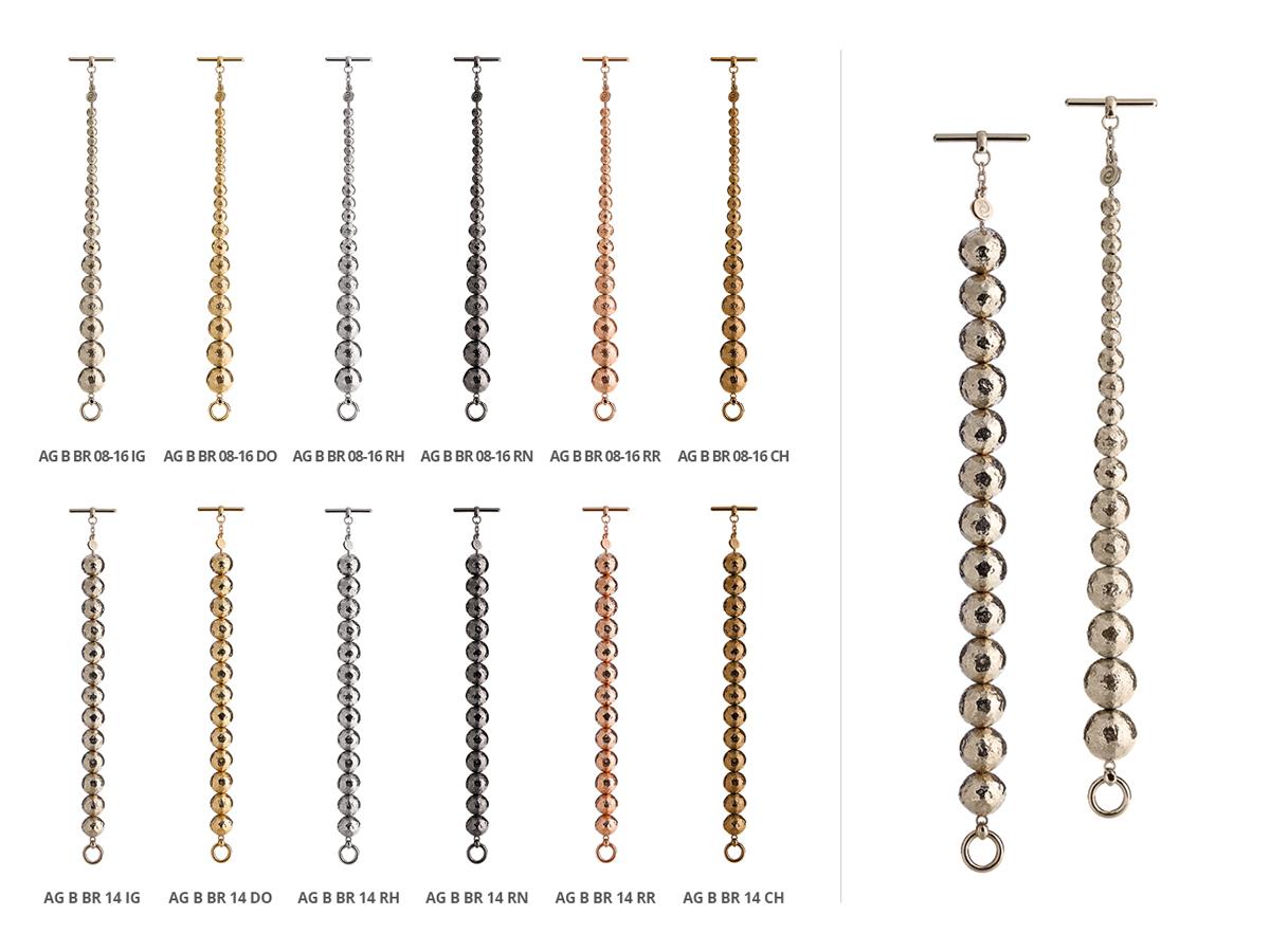 Collezione Boule Bracciali Argento 116 | ECLAT Preziosi
