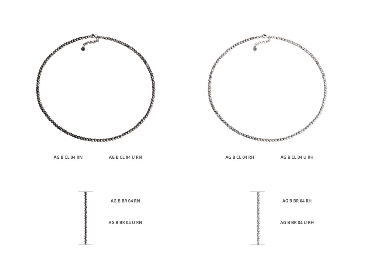 Collezione Boule Collane Argento 114 | ECLAT Preziosi