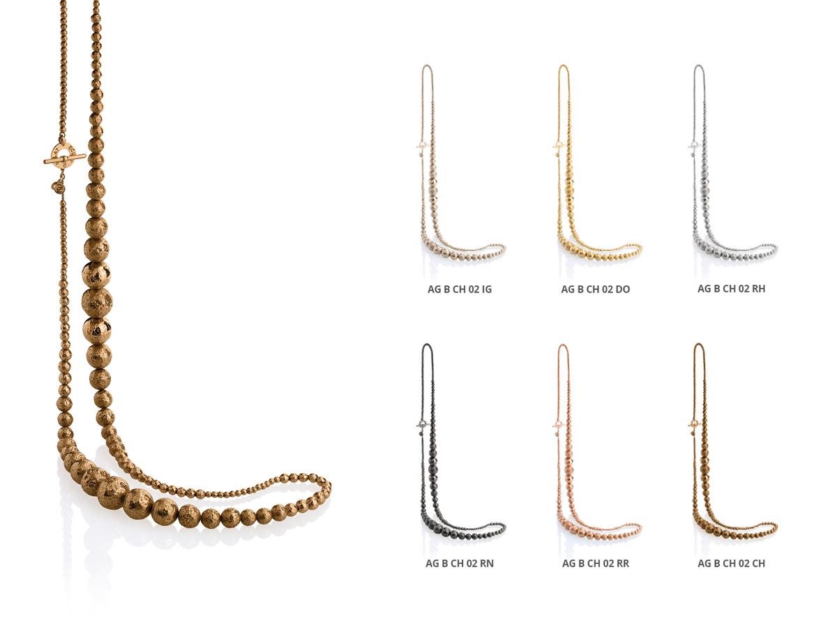 Collezione Boule Collane Argento 105 | ECLAT Preziosi