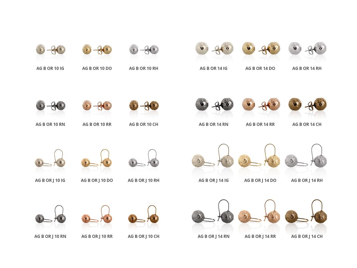 Collezione Boule Orecchini Argento 104 | ECLAT Preziosi