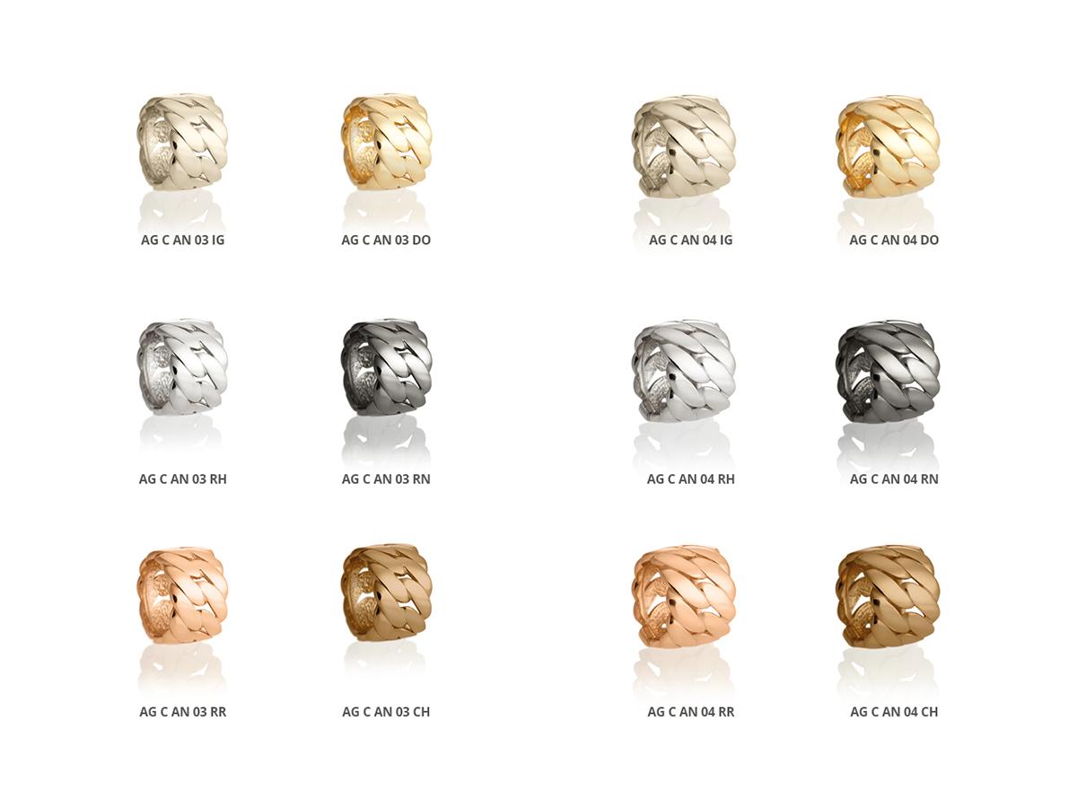 Silver Rings Classic Collection 155 | ECLAT Preziosi