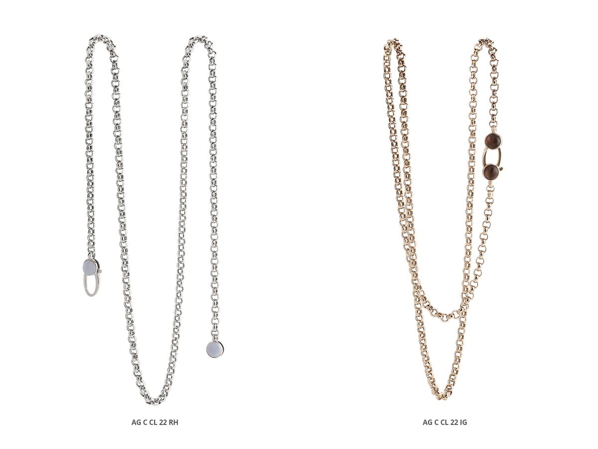 Silver Necklaces Classic Collection 157 | ECLAT Preziosi