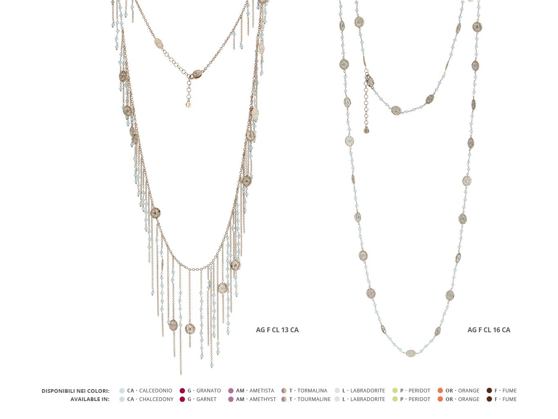 Silver Necklaces Faste Collection 96 | ECLAT Preziosi
