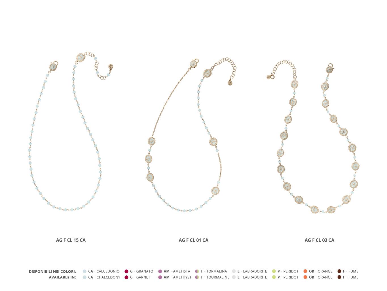 Silver Necklaces Faste Collection 98 | ECLAT Preziosi