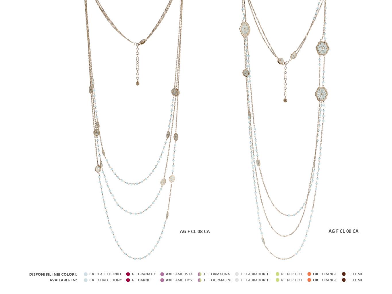 Silver Necklaces Faste Collection 97 | ECLAT Preziosi