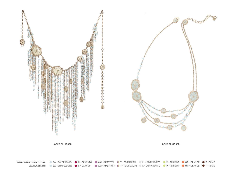 Silver Necklaces Faste Collection 93 | ECLAT Preziosi
