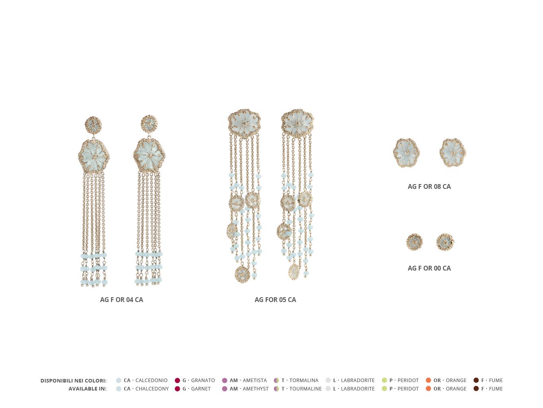 Silver Earrings Faste Collection 94 | ECLAT Preziosi