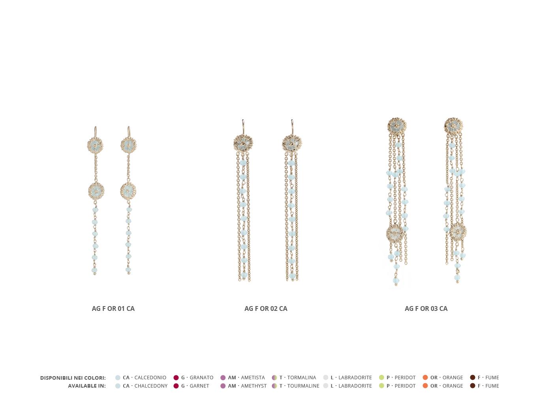 Silver Earrings Faste Collection 95 | ECLAT Preziosi