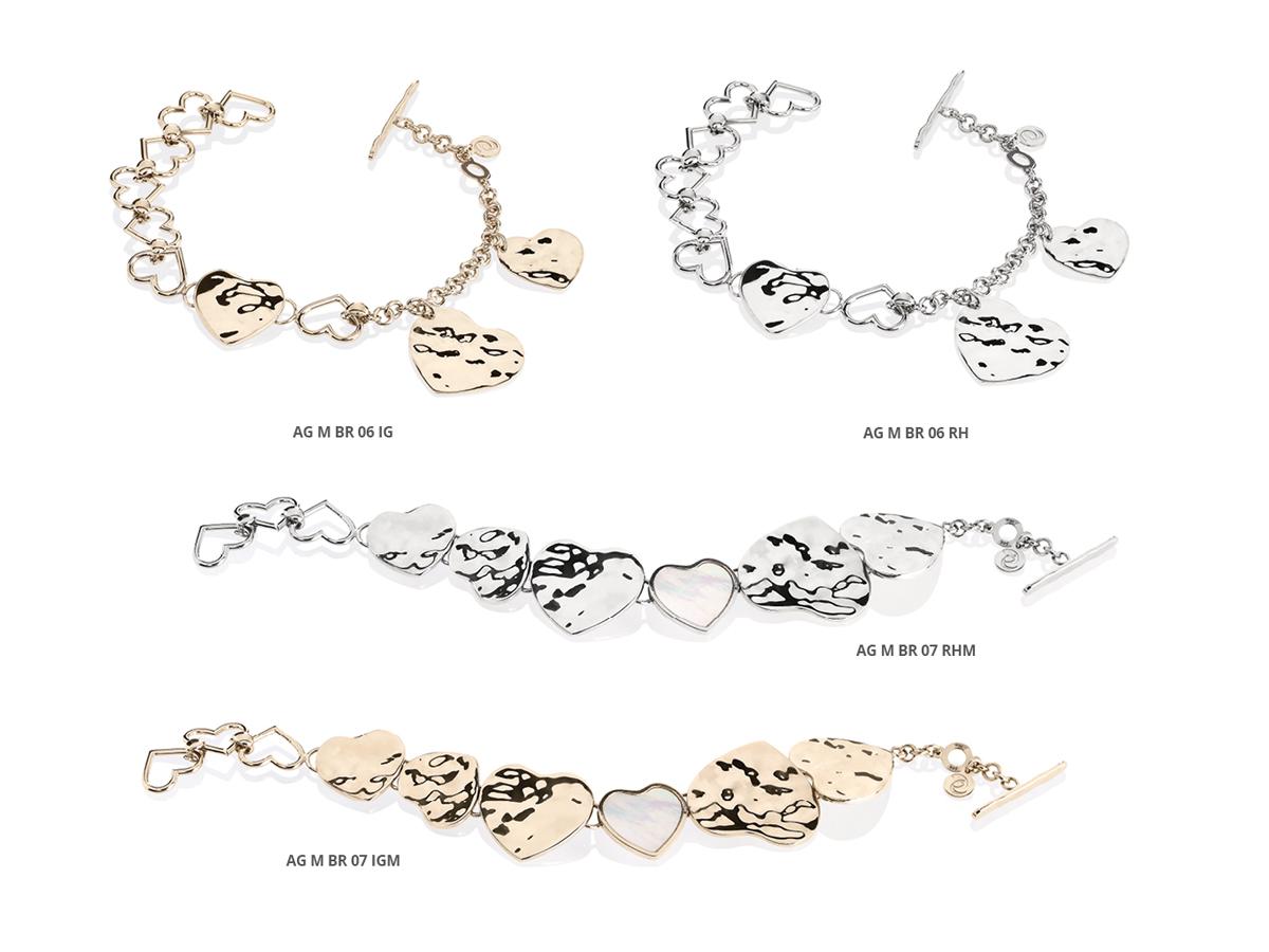 Silver Bracelets Flamme Collection 151 | ECLAT Preziosi
