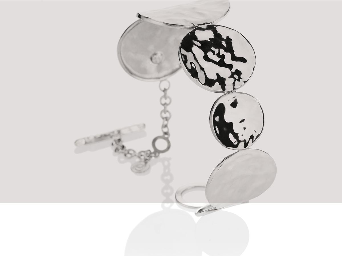 Silver Bracelet Flamme Collection 154 | ECLAT Preziosi