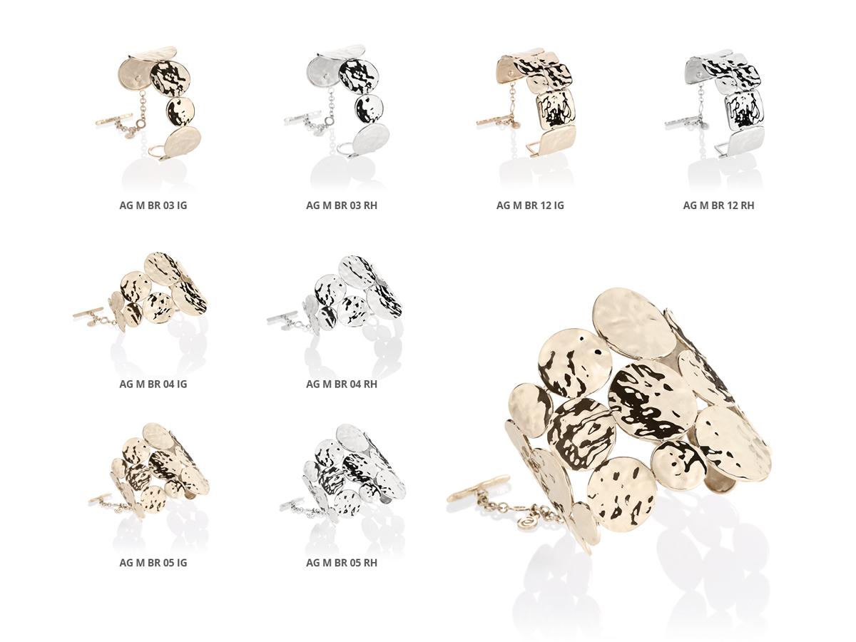 Silver Bracelets Flamme Collection 153 | ECLAT Preziosi
