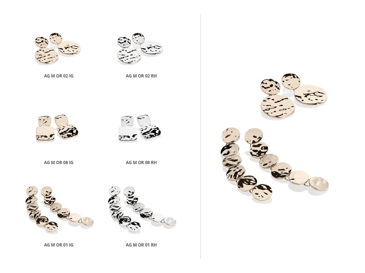 Silver Earrings Flamme Collection 144 | ECLAT Preziosi