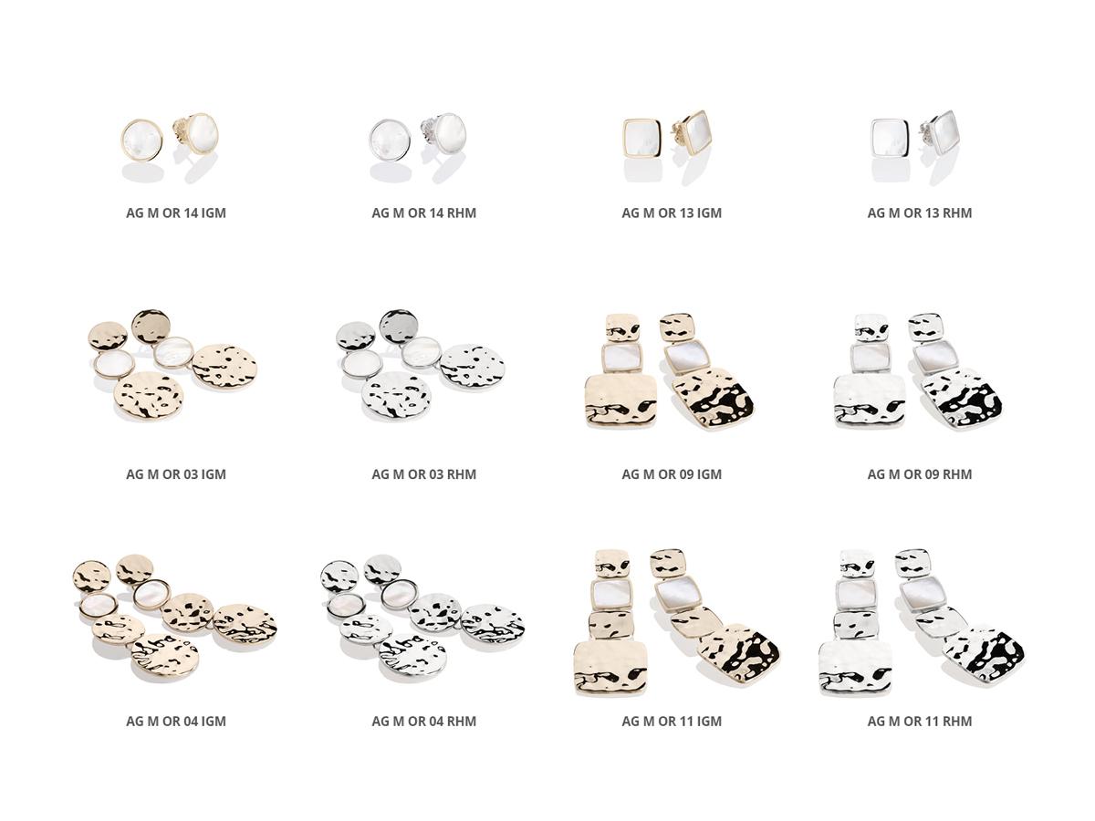 Silver Earrings Flamme Collection 145 | ECLAT Preziosi