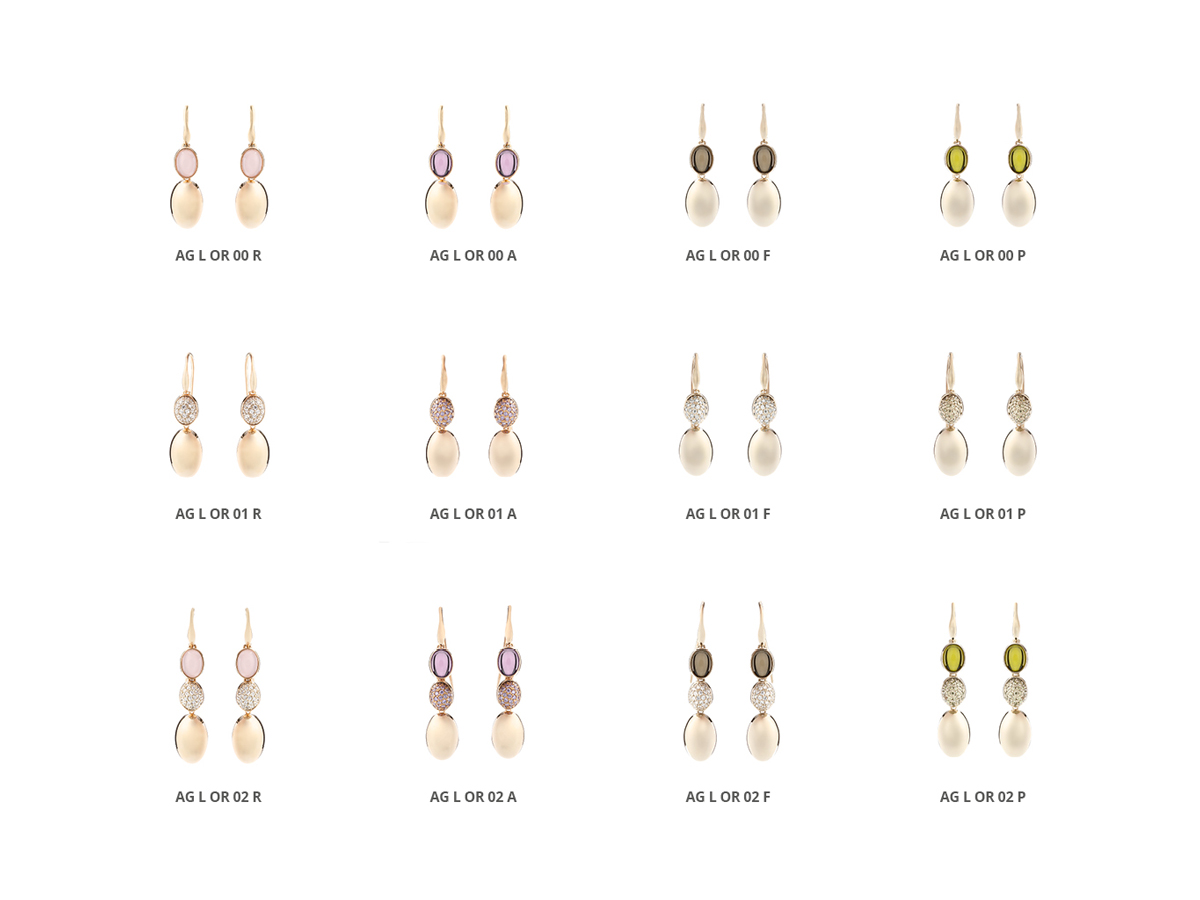Silver Earrings Luminescence Collection 120 | ECLAT Preziosi