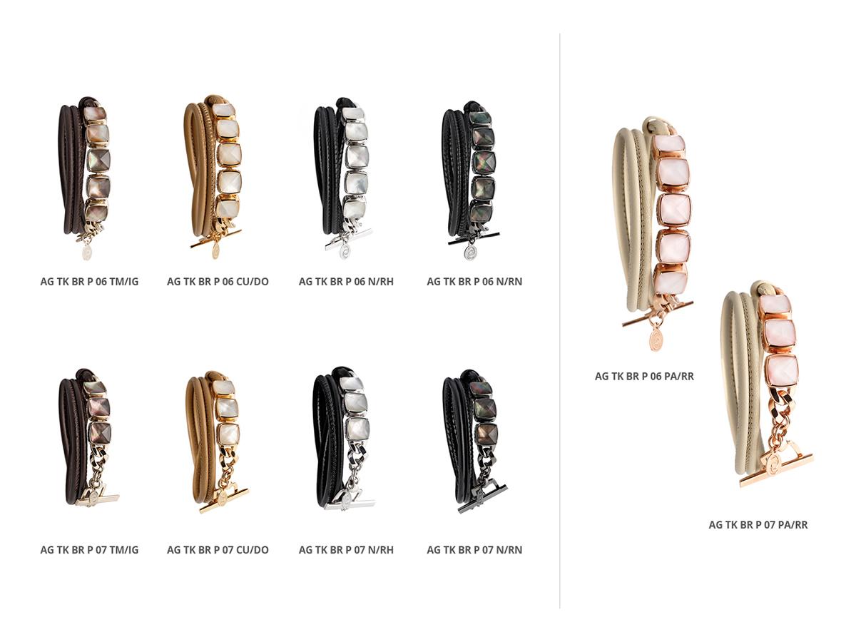 Silver Bracelets Tank Collection 130 | ECLAT Preziosi