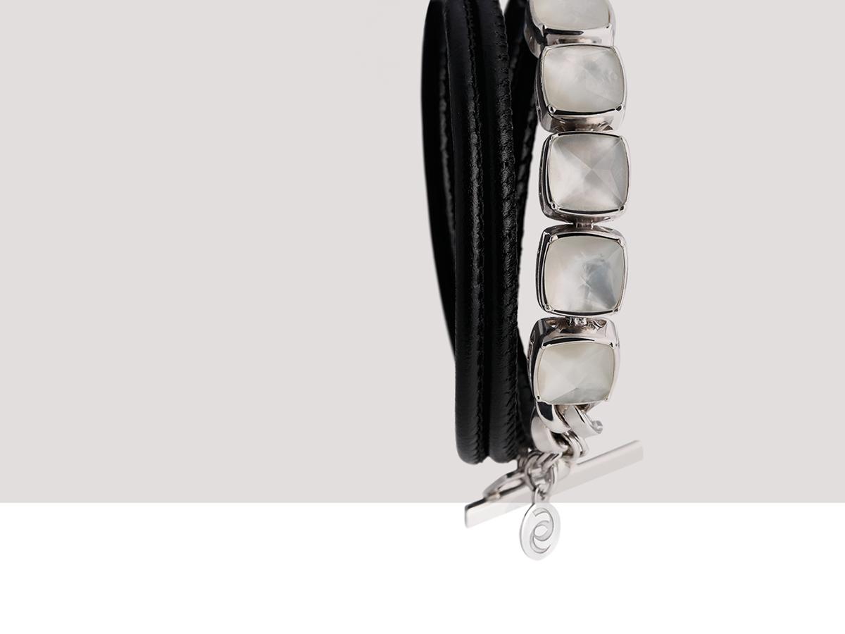 Silver Bracelet Tank Collection 138 | ECLAT Preziosi