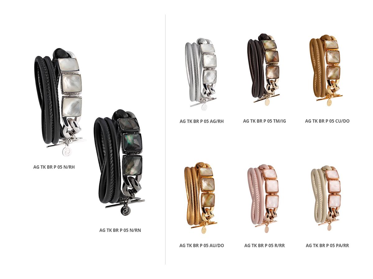 Silver Bracelets Tank Collection 129 | ECLAT Preziosi