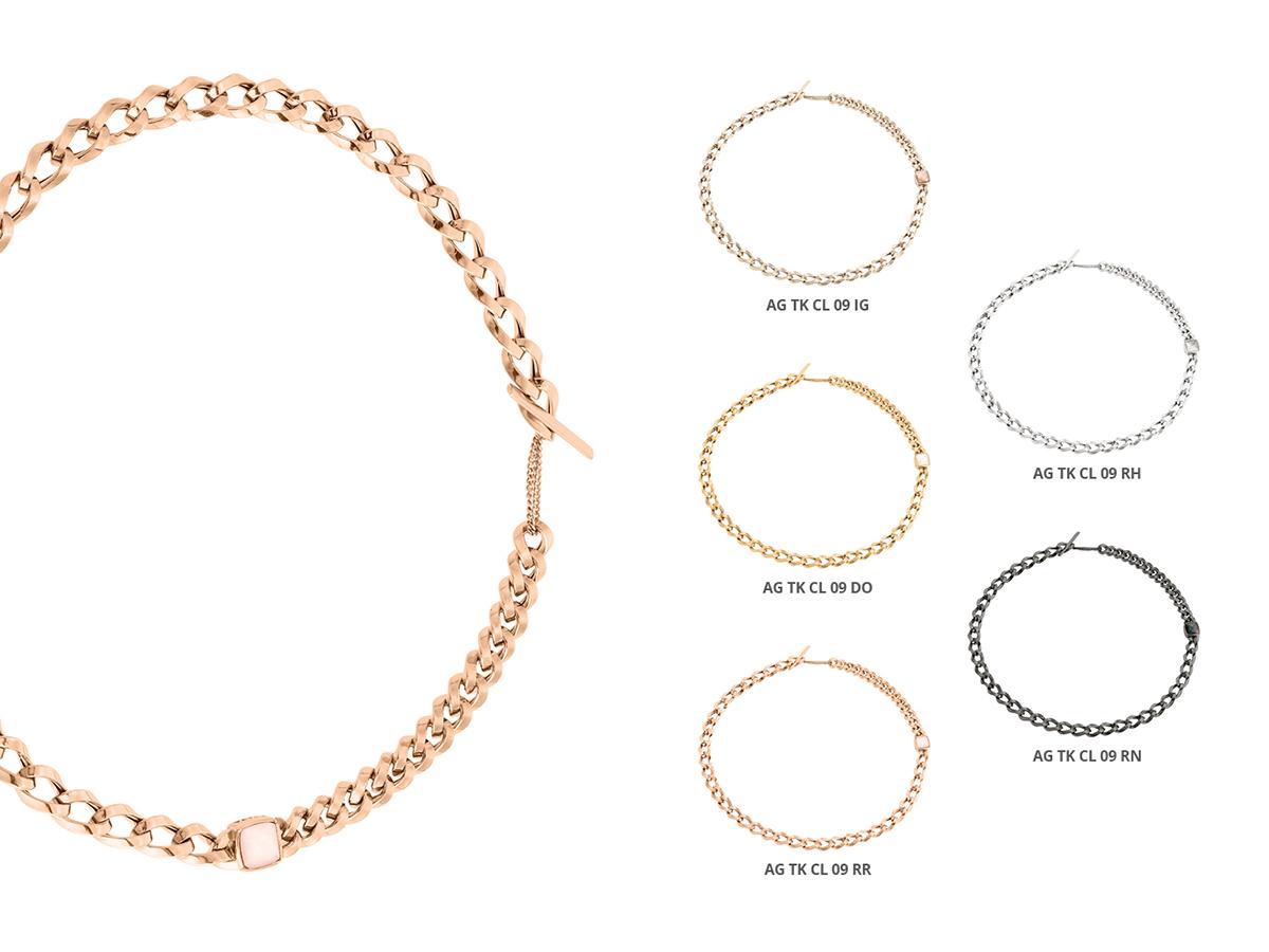 Silver Necklaces Tank Collection 127 | ECLAT Preziosi