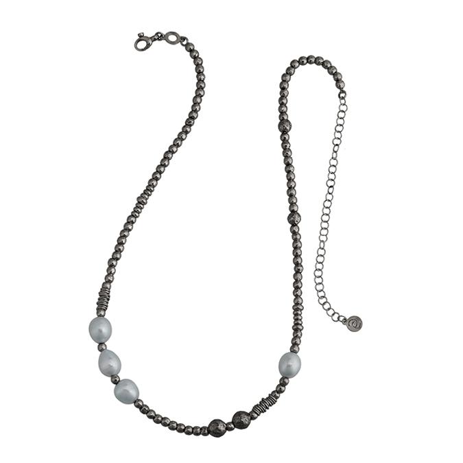 Collezione Boule Pearl Collana Argento | ECLAT Preziosi