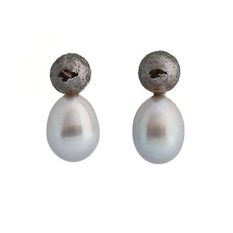 Collezione Boule Pearl Orecchini Argento | ECLAT Preziosi