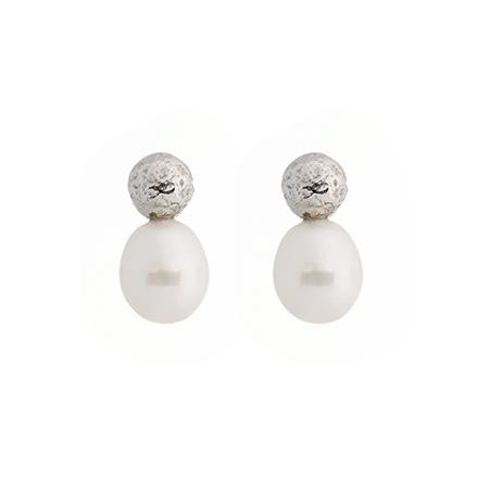 Collezione Boule Pearl Orecchini Argento 01 | ECLAT Preziosi
