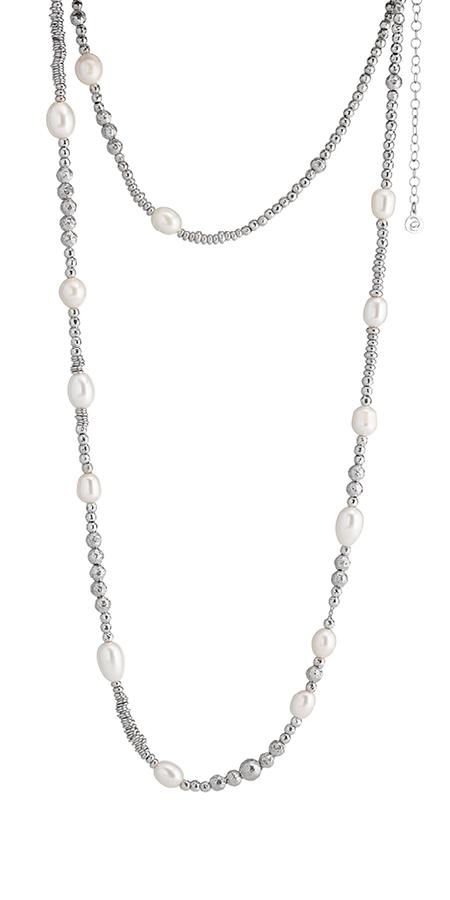 Collezione Boule Pearl Collana Argento 07 | ECLAT Preziosi