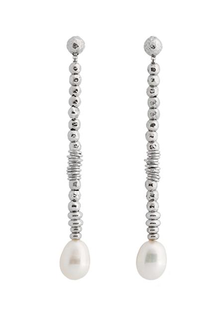Collezione Boule Pearl Orecchini Argento 02 | ECLAT Preziosi
