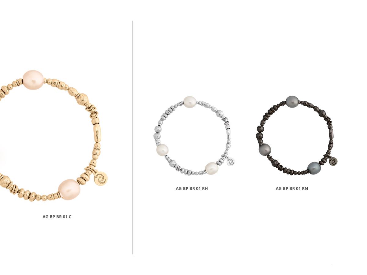 Collezione Boule Pearl Bracciali Argento 27 | ECLAT Preziosi