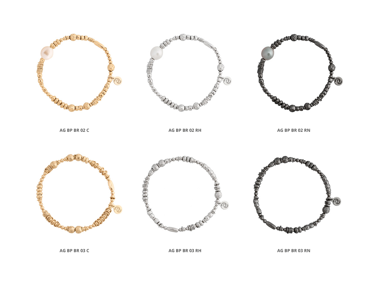 Collezione Boule Pearl Bracciali Argento 26 | ECLAT Preziosi