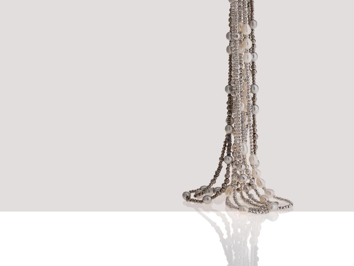 Collezione Boule Pearl Collane Argento 05 | ECLAT Preziosi