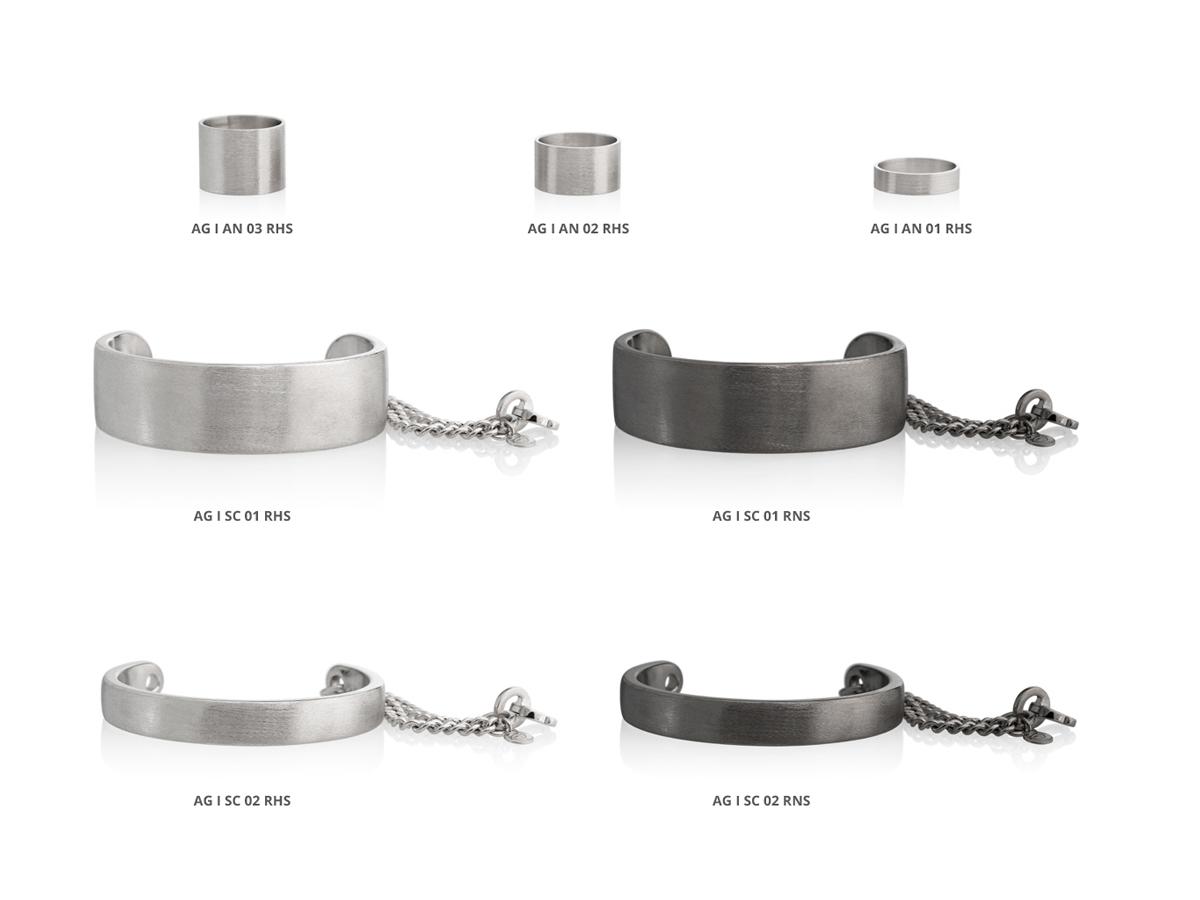 Silver Bracelets Rings Icon Collection 86 | ECLAT Preziosi