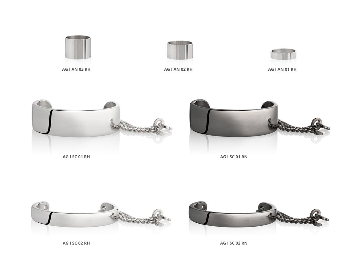 Silver Bracelets Rings Icon Collection 85 | ECLAT Preziosi