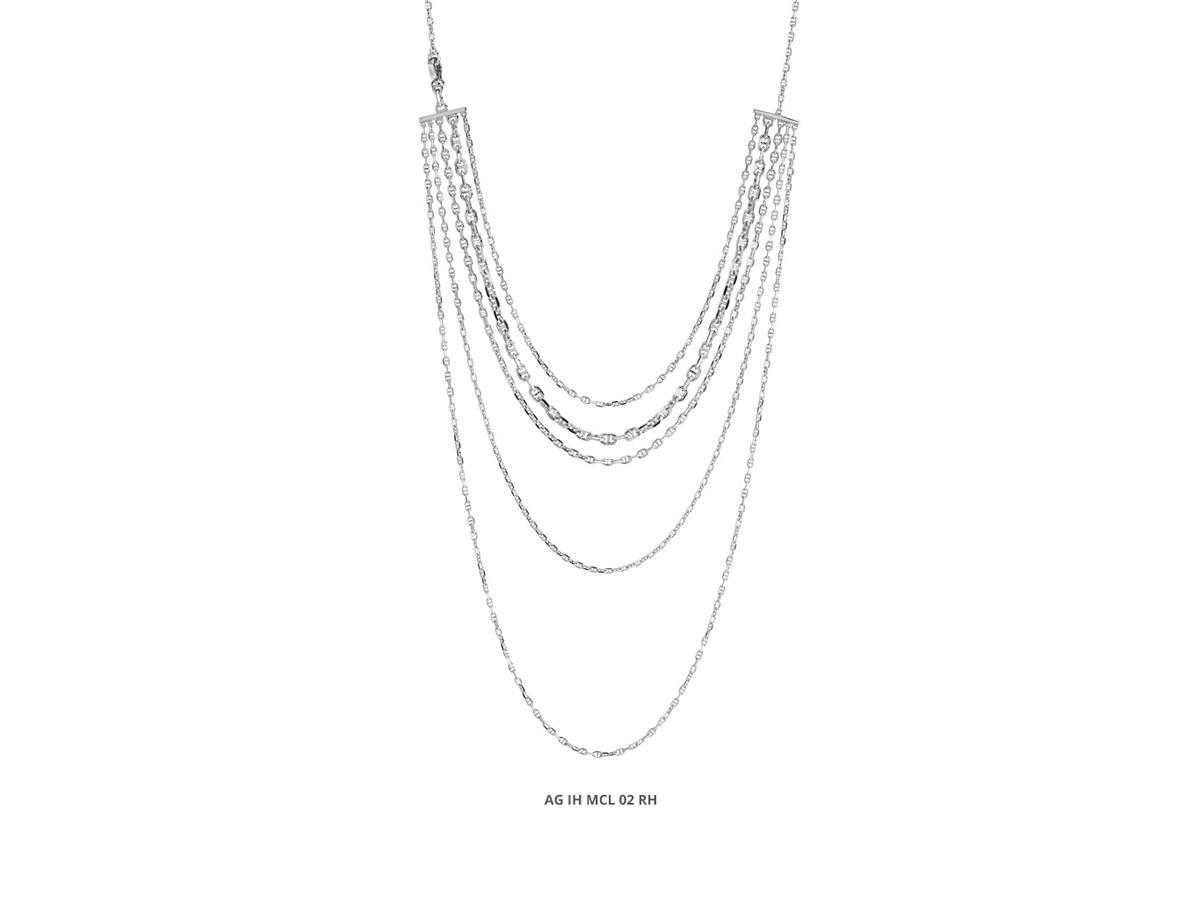 Silver Necklace Icon Collection 83 | ECLAT Preziosi