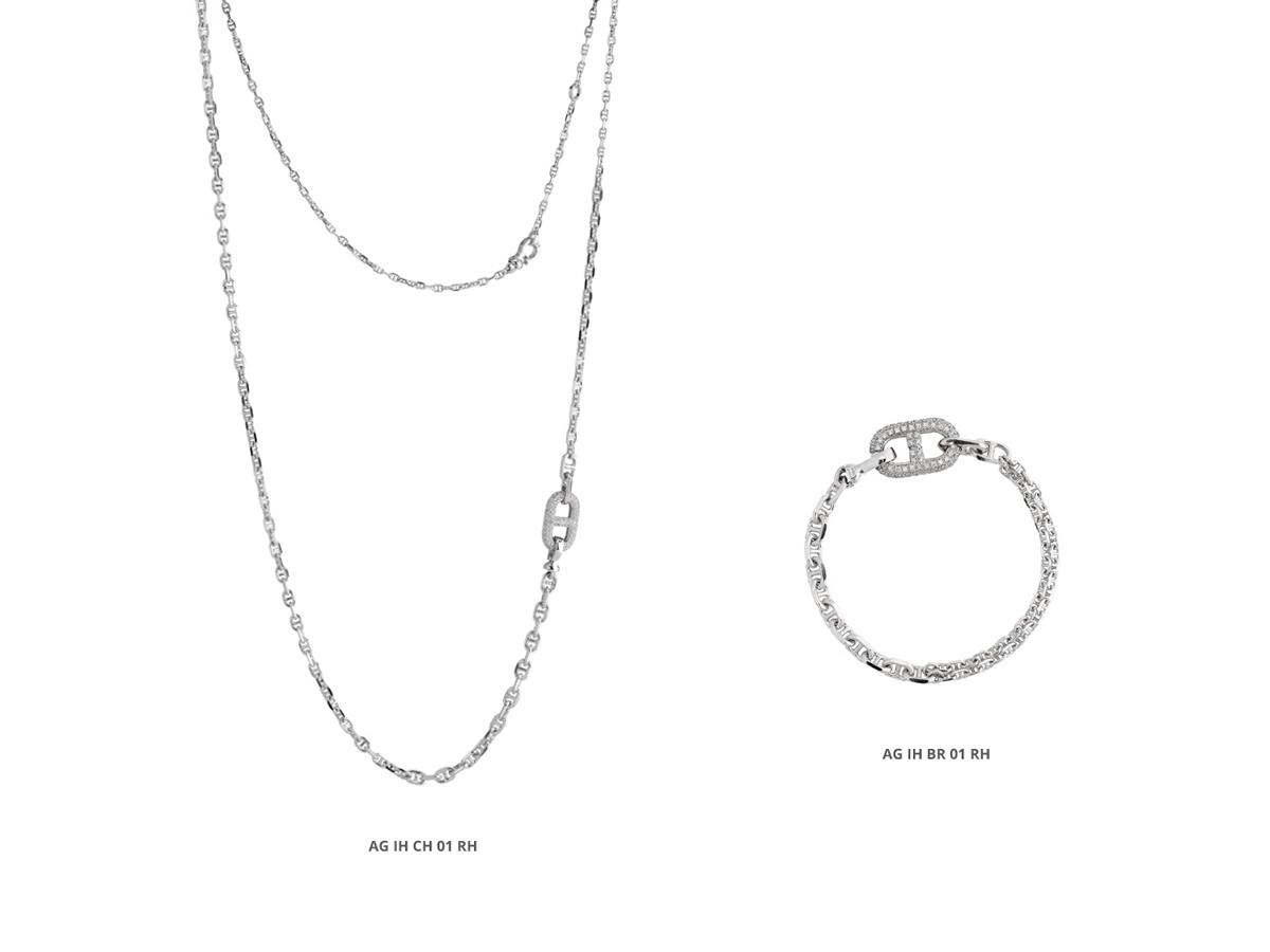 Collezione Icon Collana Bracciale Argento 36 | ECLAT Preziosi