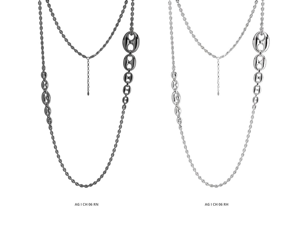 Silver Necklaces Icon Collection 82 | ECLAT Preziosi