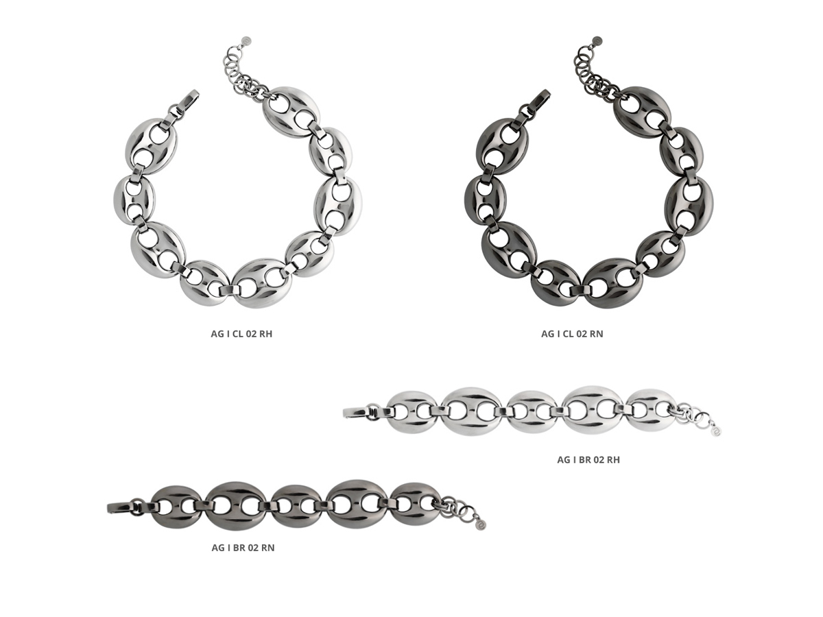Silver Bracelets Icon Collection 79 | ECLAT Preziosi