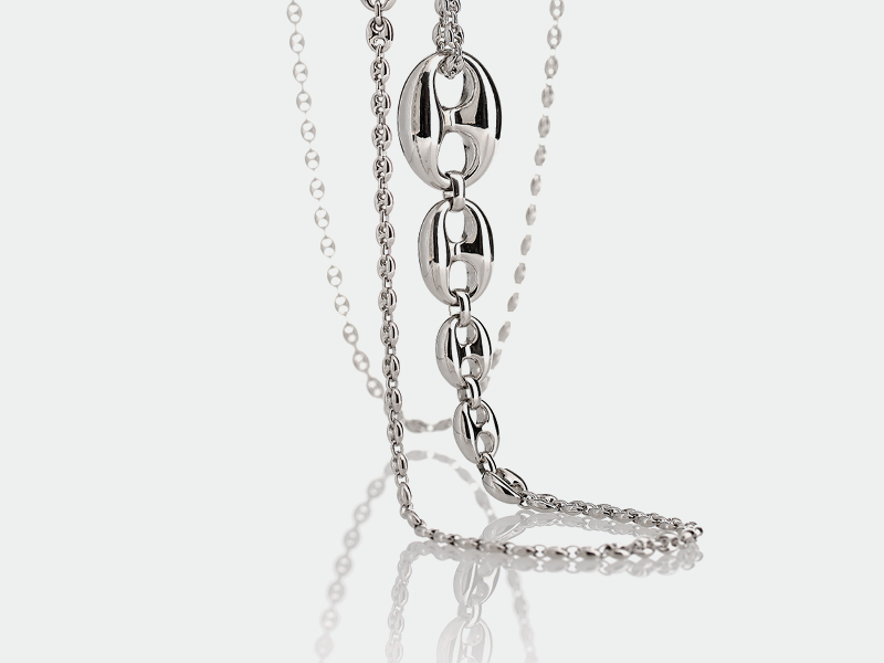 Silver Necklace Icon Collection 59 | ECLAT Preziosi